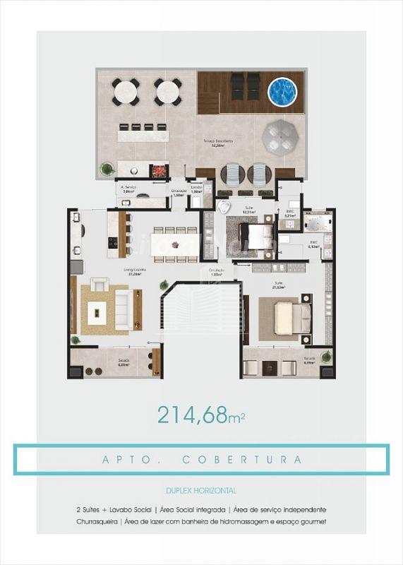Spiaggia Del´AMORE  Residencial - Cobertura Duplex